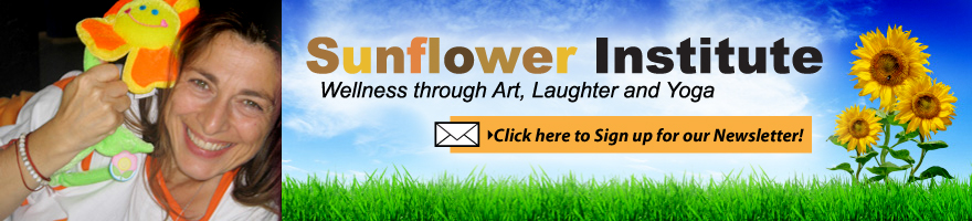 sunflower institute - wellness through art, laughter and yoga